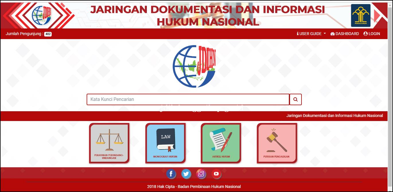 Terintegrasinya JDIH Kab. Banggai Kepulauan Ke portal JDIH Nasional